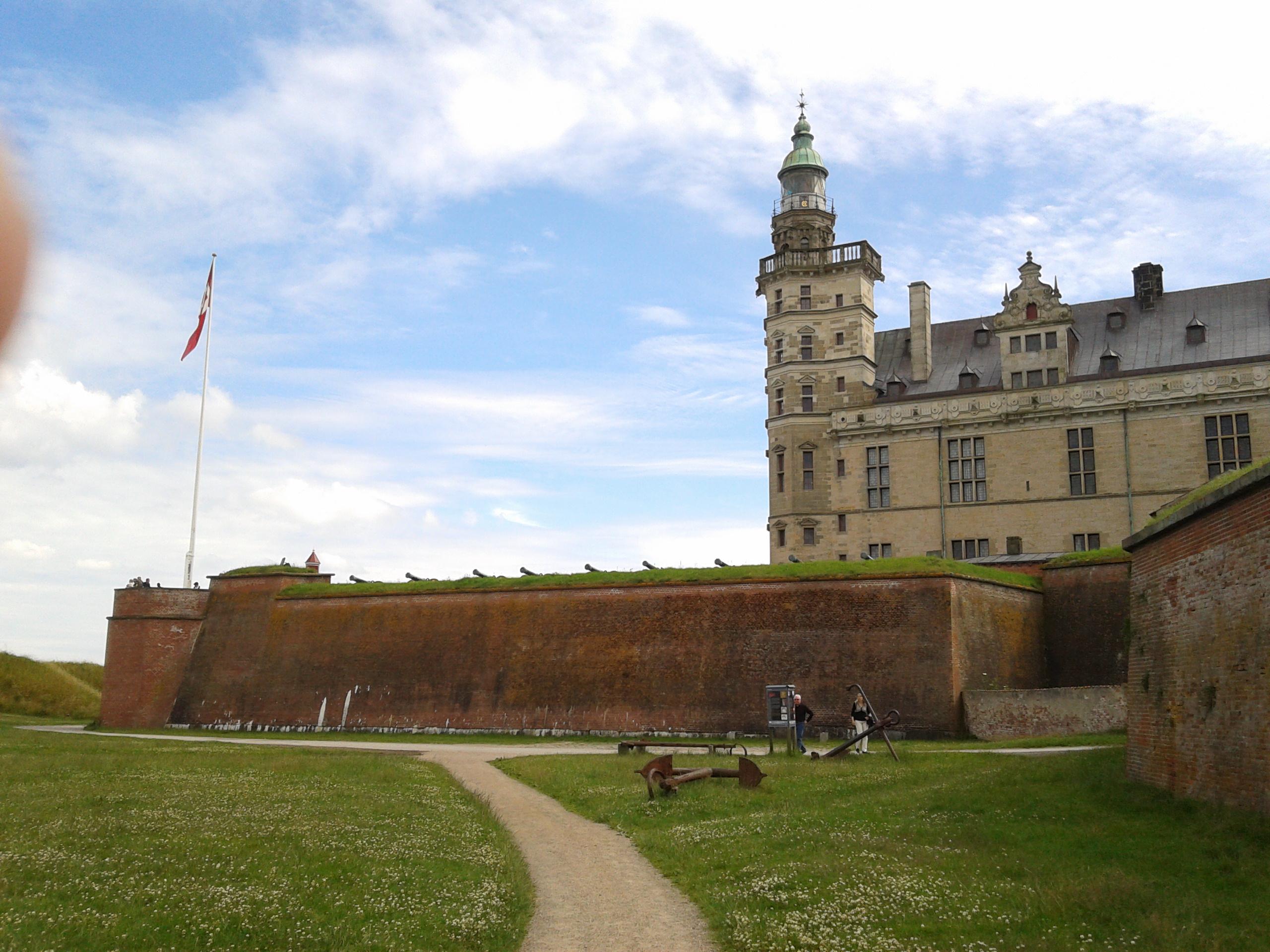 Die Kronborg, Handlungsort des Hamlet- wird zumindest behauptet
